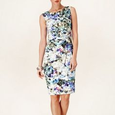 Phase Eight Multi-coloured sequined print dress- at Debenhams.com