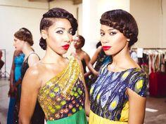 Mizani were backstage at Africa Fashion Week London 2013