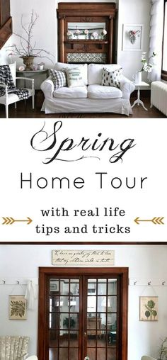 Spring Home Decor Ideas That Are Simple And Affordable I Will Make Some Of These