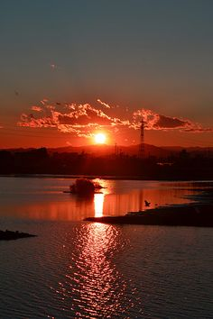 A Happy Sunset  | nature | | sunrise |  | sunset | #nature  https://biopop.com/
