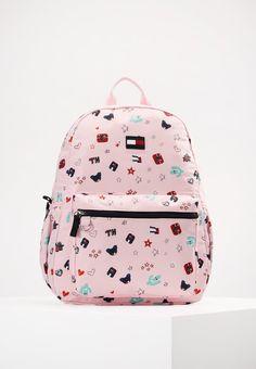 90dad59f91 BASIC CACTUS PRINT BACKPACK - Plecak - pink   Zalando.pl 🛒