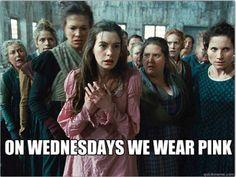 Les Miserables / Mean Girls: the latest meme mashup
