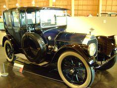 1916 Pierce Arrow 38-C Series 4 Brougham limousine. Photo taken at LeMay museum in Tacoma, WA., USA