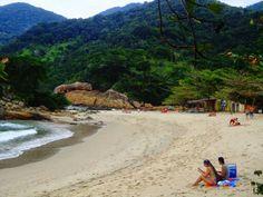 Praia do meio, trindade, rio de janeiro, brasil.