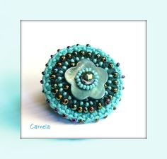 crochet ring, tiffitwist