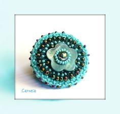 crochet ring, tiffitwist