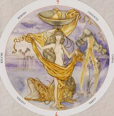 Seven of Cups - Circle of Life Tarot by Maria Distefano