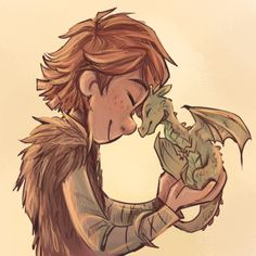 tiny Book Toothless & Hiccup ~ HTTYD fan art | by sharkie-19