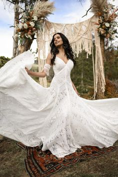 From the international bridal house Essense of Australia, meet All Who Wander. Browse our brand new wedding dress collection, perfect for the boho bride. Bohemian Bride, Bohemian Wedding Dresses, Sexy Wedding Dresses, Wedding Dress Styles, Bridal Dresses, Bohemian Summer, Bohemian Weddings, Event Dresses, Indian Weddings