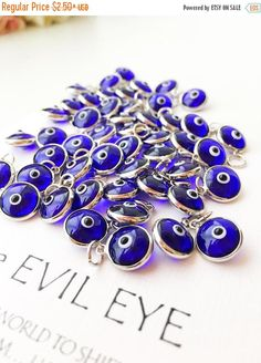 A personal favourite from my Etsy shop https://www.etsy.com/listing/528433209/promo-evil-eye-charm-blue-evil-eye-beads Evil eye charm   blue evil eye beads   glass evil eye charms   evil eye beads connectors   turkish evil eye jewelry   evil eye necklace charms   nazar boncuk  #evileye #evileyes #evileyecharm #blueevileye #evileyebeads #nazarboncuk #diy #necklacecharm