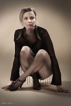 Portrait Glamour d'une jeune femme