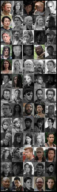 A lot of black and white. @_HunterDixon @_BethGreene_ @QueenCarol_P @HershelGreene1