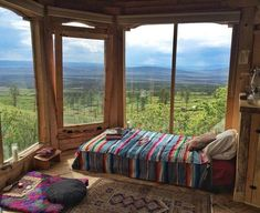 Inspiring Modern Bedroom Design Ideas and Decoration ! Part bedroom design; 1 Bedroom House, Master Bedroom, Sleeping Porch, Modern Bedroom Design, Earthship, Cozy Place, My Dream Home, Beautiful Places, Beautiful Pictures