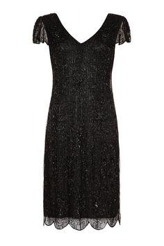 UK10 US6 AUS10 negro Vintage inspirado vibe de la por Gatsbylady