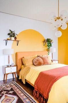 Cores para Quarto de Casal: +130 Inspirações para Pintar o Seu em 2020 Decoration Inspiration, Room Inspiration, Decor Ideas, Decorating Ideas, Gift Ideas, Blue Rooms, Aesthetic Rooms, Home And Deco, Dream Rooms