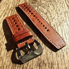 We love doing custom rally hole patterns. Anybody have a new challenge for us? Leather Gifts, Handmade Leather, Leather Working, Vintage Leather, Belt, Rally, Bracelets, Bespoke, Challenge