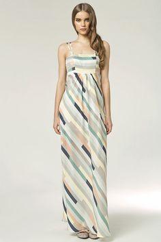 Robe Longue Femme bretelle été Maxi 36 38 40 42 44 Nife S48 Neuf