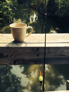 Fishing and coffee. Life's two great ways to start the day off