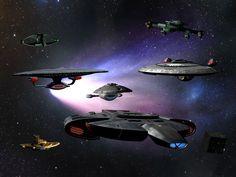 Star Trek - TNG era by davemetlesits.deviantart.com on @deviantART