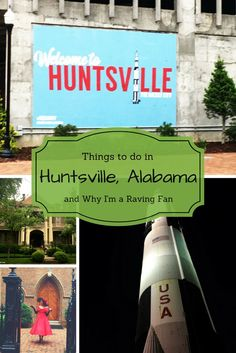 Things to do in Huntsville, Alabama I fell in love with Huntsville, Alabama! PullOverandLetMeOut.com