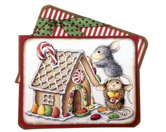 House-Mouse® Gingerbread House by Jennifer Dove - Stampendous