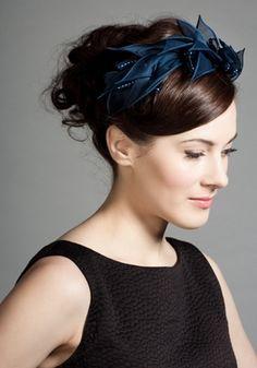 Rachel Trevor-Morgan :: Organdie Petal Alice Band