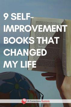 9 Self-Improvement Books That Changed My Life