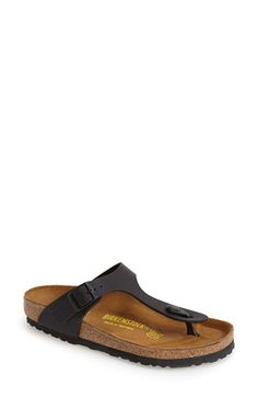 Birkenstock Birkenstock 'Gizeh' Birko-Flor Thong Sandal (Women) available at #Nordstrom