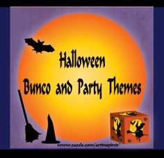 "Every October one of our Bunco group members loves to host a Halloween Bunco event. She invites all the Bunco players to get into the ""spirit""..."