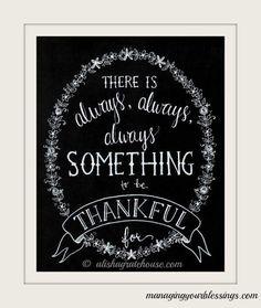 Thankfulness ❤ † ❤