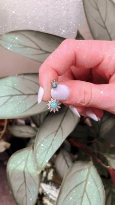 Make your belly piercing special with Spirit Adornments Turquoise Sunflower Belly Ring! ✨ Belly Piercings, Belly Rings, Body Jewelry, Sapphire, Spirit, Goals, Turquoise, Make It Yourself, Mom