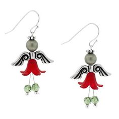 Angel of Dance Earrings | Fusion Beads Inspiration Gallery