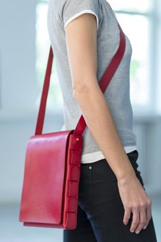 Clean Everything — Stitchless Bag – Red