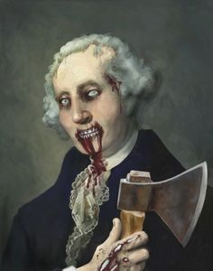 Zombie George Washington    by PlemonStudios @ Etsy  we need some cool talent like this.  there needs to be a surprise around every corner.