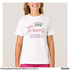 Personalized Twincess Shirt