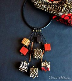 Afro Chic, African Jewelry, Bijoux Diy, Polymer Clay Crafts, Creations, Hand Painted, Stone, Inspiration, Fashion