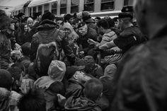 James Nachtwey (né en 1948) est un photographe de guerre et photojournaliste américain. Il est considéré comme l'un des plus grands photographes de guerre de notre époque, tant par les amateurs que ses pairs. Le photographe sillonne le globe depuis près...