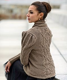 Ravelry: Nora Sweater pattern by Linda Marveng