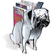 Revisteiro Pug! <3  istickonline.com