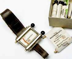 Rolling Down the Highway: Vintage 1927 Analog GPS  It strapped directly to users' wrists. It was called the Plus Four Wristlet Route Indicator, and it dates all the way back to 1927. According to the National Trust in Britain, it was the first navigation device made expressly for motorists.