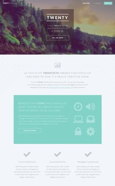 30 Free HTML5 CSS3 Responsive Templates