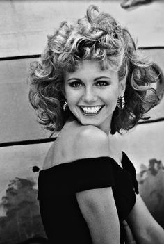 #olivianewtonjohn Olivia Newton John as Sandy ~ Grease (1978). I am actually named after her!!! Sandra Dee.