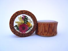 Wood+Flower+by+TheGaugeQueen+on+Etsy,+$26.00