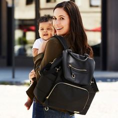 Just a little excited for baby's diaper bag backpack to arrive! Even got it on sale!   Skip Hop | Chelsea Downtown Chic Diaper Backpack