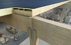 Houten kanaalplaten - Kerto-Ripa - Kennisbank Biobased Bouwen Building Systems, Plan Design, Kingston, Construction, House Design, Interior, House Ideas, Gardening, Home Decor