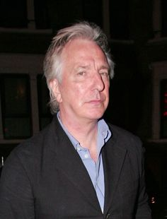 May 22, 2009 -- Alan Rickman leaving the Ivy Restaurant in London, England.