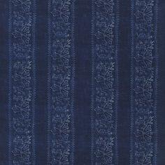 fiorita - indigo fabric | William Yeoward