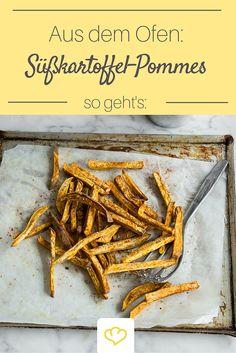 Unser Geheimtipp für die perfekten Süßkartoffel-Pommes aus dem Ofen?!  Speisestärke! So werden sie herrlich knusprig!