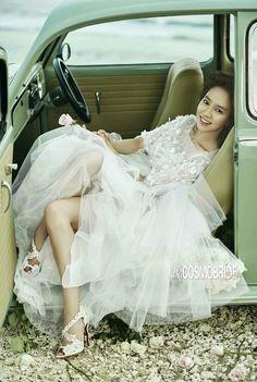 "Song Ji Hyo and Chen Bolin - ""Cosmo Bride"" Magazine 2016 Running Man Cast, Ji Hyo Running Man, Ji Hyo Song, Korean Actresses, Korean Actors, Girl Day, Actor Model, Korean Beauty, Fashion Pictures"