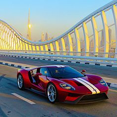 """The new Ford GT spotted in Dubai."
